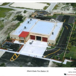 Coconut Palm Fire Station 70 West Construction