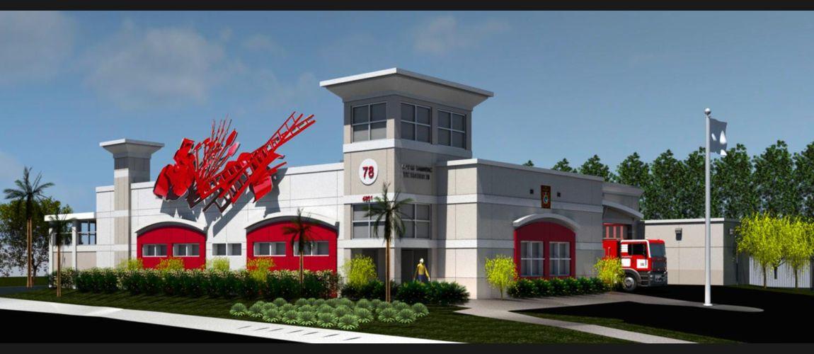 Tamarac Fire Station 78 West Construction